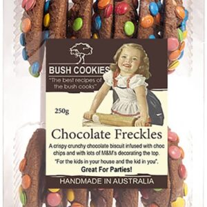 Chocolate Freckle Biscuits by Bush Cookies 250g