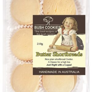 Butter Shortbread Cookies 210g