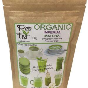Organic Matcha  Japanese Imperial Tea Powder - 100g