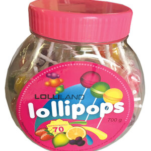 Lollipops Mixed - Individually wrapped Large 700g Jar