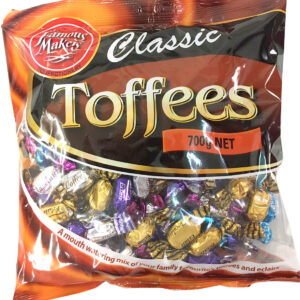Toffees & Eclairs 700g Jumbo Bag - Famous Makers