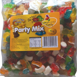 Gummi Party Mix - Gluten Free 1kg Bulk Lollies