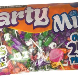 Candy Showcase Huge Party Mix Bag 4lb Bulk Bag 1.80 kg over 250 Pieces