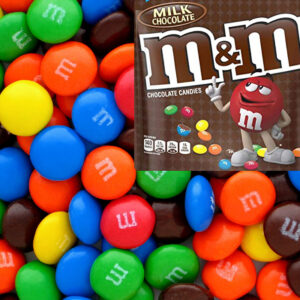 M&M's Milk Chocolate Buttons Large - 1kg Bulk Lollies
