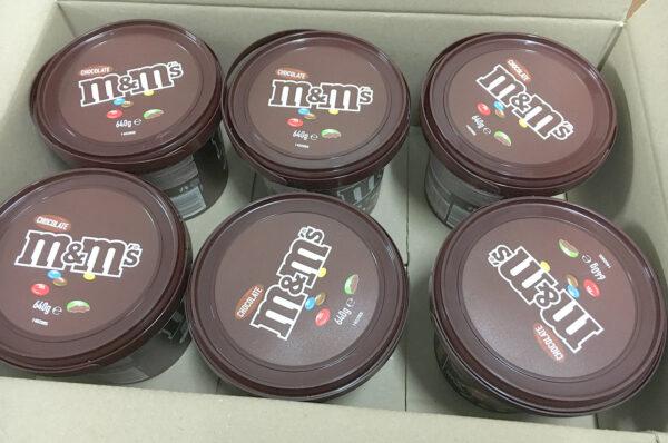 M&M's Chocolate - Party Bucket 640g - carton of 6