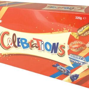 Celebrations Chocolates 320g  e Gift Box -Mars