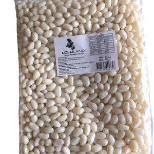White Jelly Beans -  1kg Bulk Bag