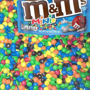 M&M's Minis Choc Buttons - 1kg Bulk Lollies